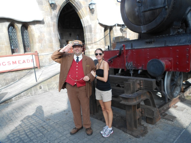 Hogwarts Express and Sarah Guillory